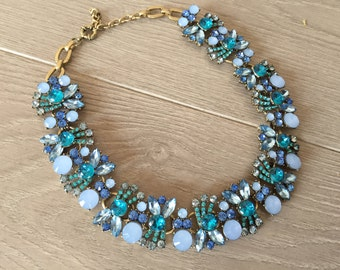 Get the party started Chunky Statement Necklace Bib