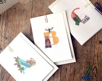 Mix and match alphabet cards