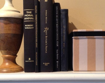 Black, Bound Set of Vintage Books