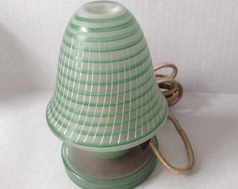 Czechoslovakia-Vanity Perfume Lamp