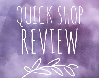 Target Market Shop Review - Shop Critique - Shop Review - Ready for the Holidays - Life Coach - Life Coaching - Target Market