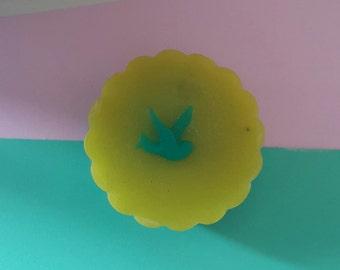 014 Zitrone und Mohn Peeling Seife/ Lemon and Poppyseed Exfoliating Soap