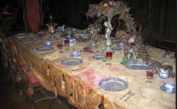 disneyland haunted mansion full dining room set