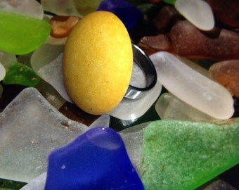 "Ring ""Bonbon yellow"""