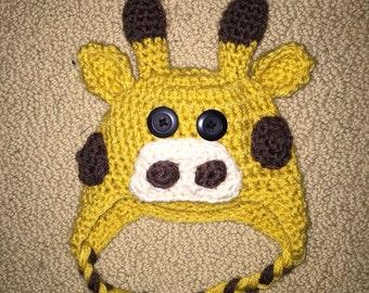 Giraffe Hat (Infant - Adult)