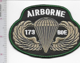 Airborne United States Army 173rd Light Airborne Infantry Brigade ''The Herd''