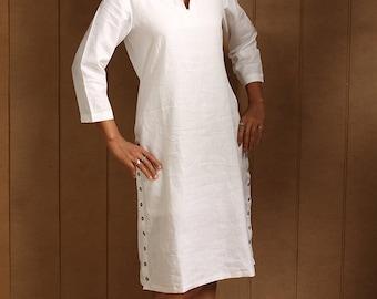 Koylang Linen Dress