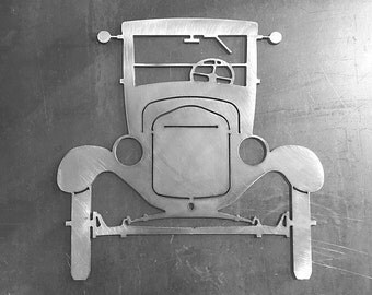 Ford Model T Ornamental Front Profile