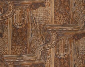 VERVAIN ETHNIC CHIC Jaya Linen Print  Fabric 5 Yards Mojave