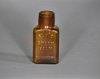 A00098 - Antique Ely's Cream Balm Bottle