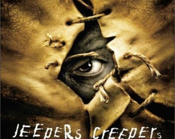 "2"" x 3"" Magnet Jeepers Creepers Movie Poster"