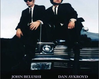 """2"""" x 3"""" Magnet The Blues Brothers Movie Poster Magnet"""