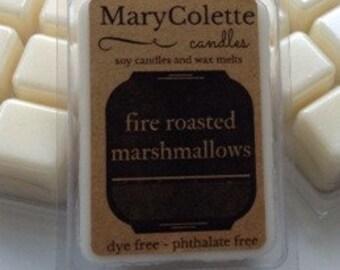 Fire Roasted Marshmallow Soy Wax Melt | Eco Friendly Scented Wax Melt | Scented Soy Melts | Fire Roasted Marshmallow | Soy Wax Tart