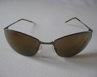VINTAGE New York SUNGLASSES CatEye glasses 50's style - 1980s model ghost DESIGNER modern E0002