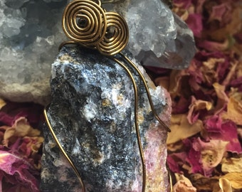 Rhodonite Stone Necklace