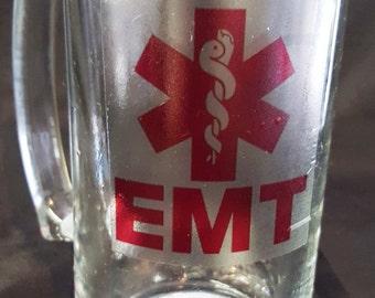EMT Beer Mug / Set of 2 / 28.2oz Beer Mug/ EMT Mug / EMT Beer Stein