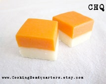 Orange Creamsicle Fudge Recipe Handmade Gifts Cookbook Recipes Baking Dessert Sweet Treats Party Desserts