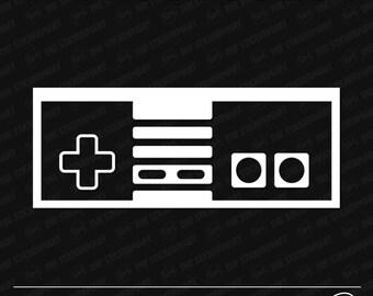 Nintendo NES Controller Vinyl Decal