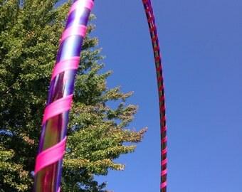 Pink Scarab Intermediate Hula Hoop