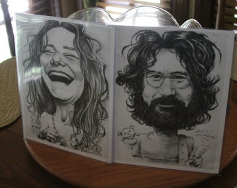 Jerry & Janis art print 2-pack