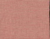 Red Ivory Check 100% Cott...