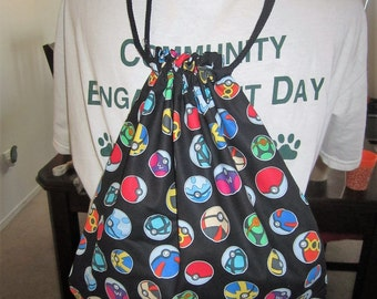 Pokemon Drawstring Backpack