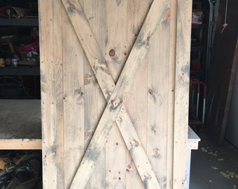 Custom Made to Order Sliding Barn Door