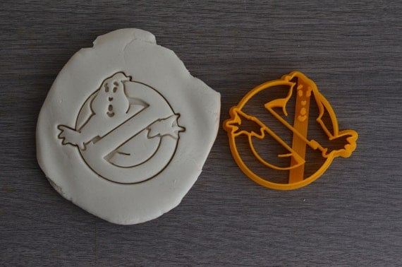 Ghostbuster Cookie Cutter