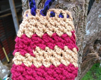 Crocheted cotton soap saver