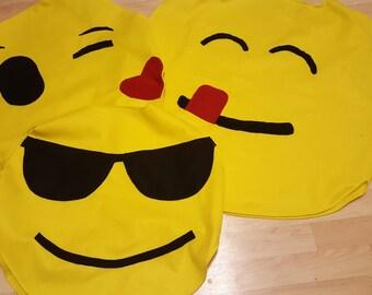 Custom order kids emoji costume