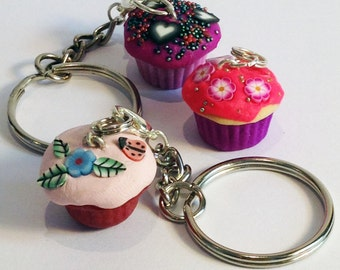 Mini Jewellery Making Kit - Cupcake Necklace Kit – Party Bag Filler - DIY Craft Kit