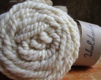 """Big son spun at the """"Natura"""" spinning wheel wool"""