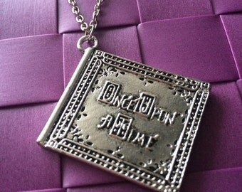 Book once upon a time ouat necklace