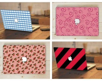 MacBook Case, Hard Plastic Top and Clear Bottom MacBook Case, - MacBook Pro Cases, MacBook Air Cases Designs
