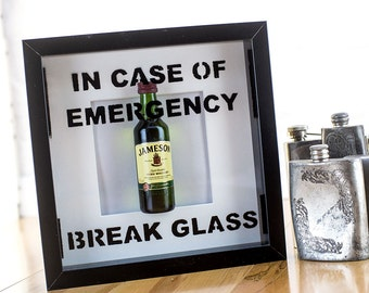 In case of emergency break glass- novelty Jameson's picture