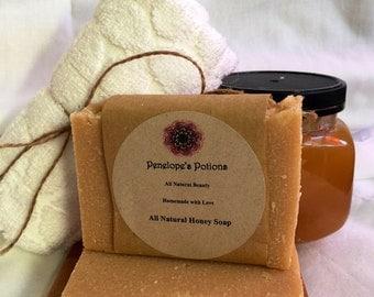 All Natural Honey Soap