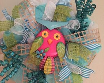 Owl Wreath!