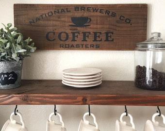 Rustic Coffee Roasters Sign