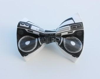 Boom Box Bow Tie