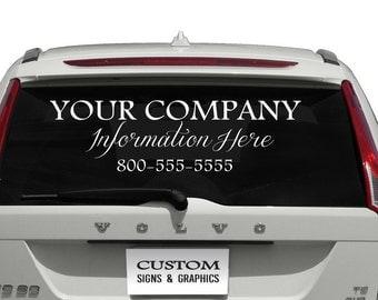 Windshield Decal Etsy - Car windshield decals custom