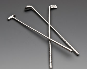 Golf Club Swizzle Sticks