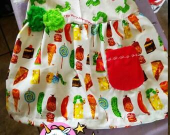 Very Hungry Caterpillar 2 toddler dress