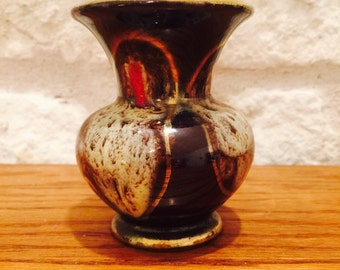 Jasba Mid Century Modern Vase made in West Germany circa 1950s