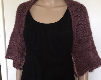 Hand Knitted Shrug