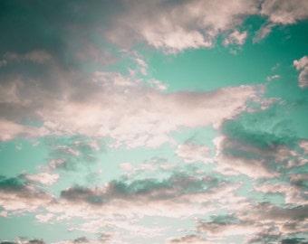 beautiful Cloud Photography Wall Art Digital DownLoad