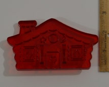 """Vintage HRM GINGERBREAD HOUSE Cookie Cutter 