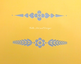 Decorative Border Stencils  *Free gift with every order*
