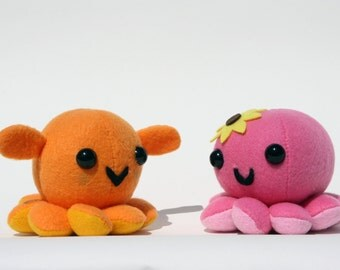 Custom-Made Octoplushies
