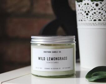 WILD LEMONGRASS Soy Jar Candle