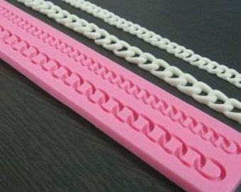 Chain Mold, Purse Chain Silicone Mold